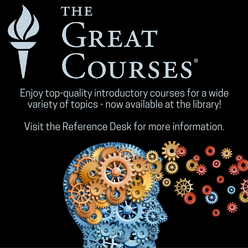 New courses available at the Northampton Library.Visit the Reference Desk for more information.